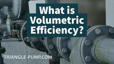 What is volumetric efficiency?