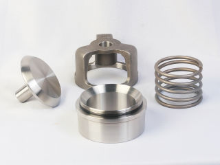 WG Sphera series spherical valve components